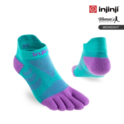 Ultra Run 終極系列女款五趾隱形襪[蘭花紫]