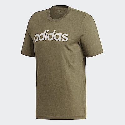 adidas T恤 ESS Linear Logo Tee 男款