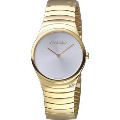 Calvin Klein  極簡石英錶(K8A23546)