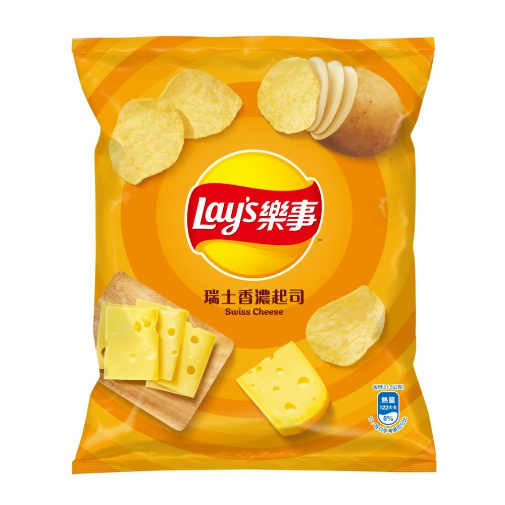 樂事 瑞士香濃起司味洋芋片(43g)
