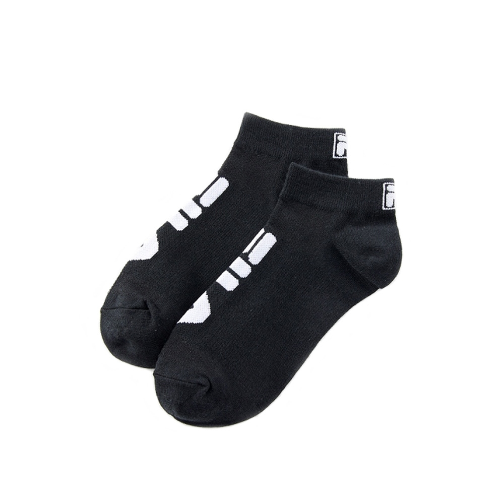 FILA 甲殼素薄底踝襪-黑 SCV-1200-BK