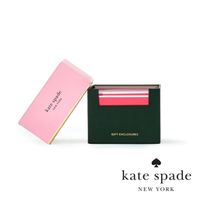 Kate Spade 貼心傳情卡片信封套組 Gift Enclosures,Color Block