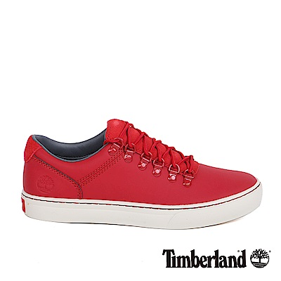Timberland 男款紅色登山淺口鞋 | A1IK7625