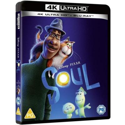 靈魂急轉彎 SOUL  4K UHD + BD 雙碟版