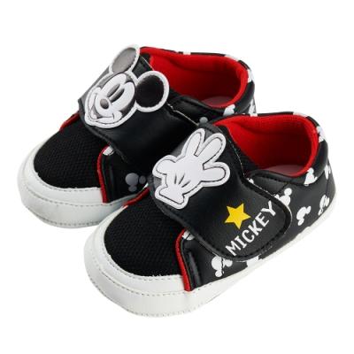 迪士尼童鞋  米奇  造型休閒小童學步鞋-黑