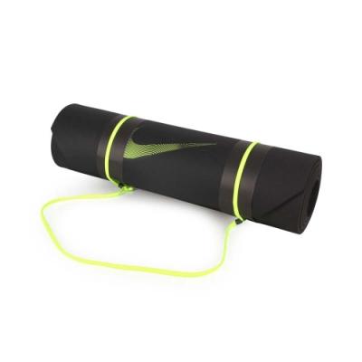 NIKE 訓練墊 2.0 黑螢光黃
