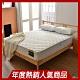 單人3.5尺-飯店用高蓬度3M抗菌防潑水獨立筒床墊-Ally愛麗