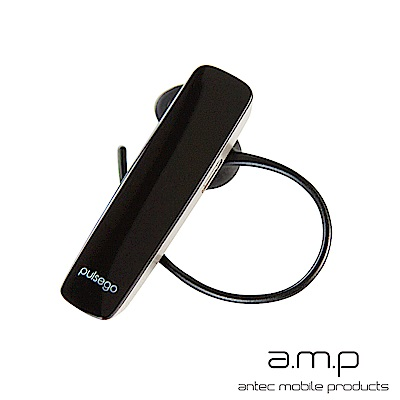 a.m.p pulse go 高音質雙待機藍芽耳機-黑