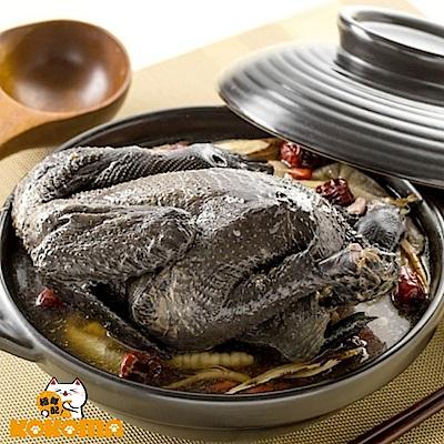 極鮮配 溫潤養生 鹿茸冬蟲烏骨雞湯 (2200g±5%/包)-1包入