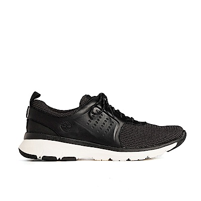 Timberland 男款黑色淺口運動靴 | A1TLW015