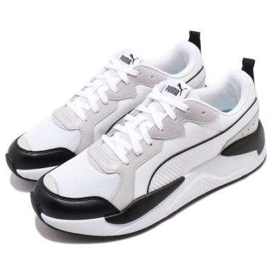 Puma 休閒鞋 X-Ray Game 運動 男鞋 基本款 簡約 皮革 舒適 穿搭 球鞋 黑 白 37284902