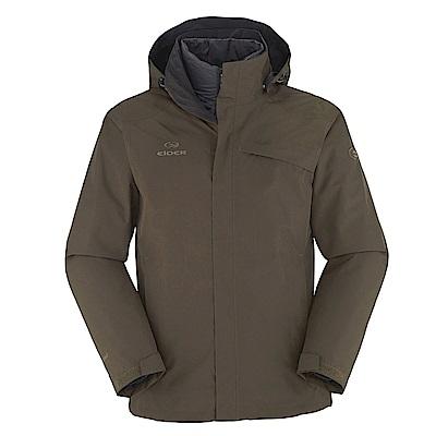 【法國 EiDER】男Gore-Tex防水透氣保暖兩件式外套