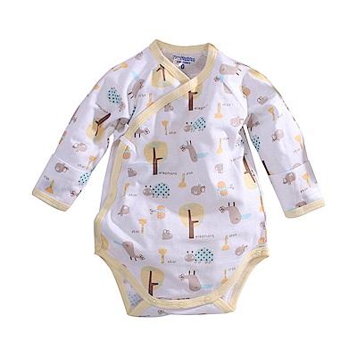 純棉薄款長袖護手連身衣 a70219 魔法Baby