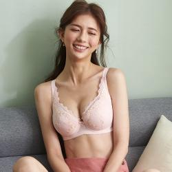 蕾黛絲-透透氣小妹大 F罩杯內衣 蜜粉橘