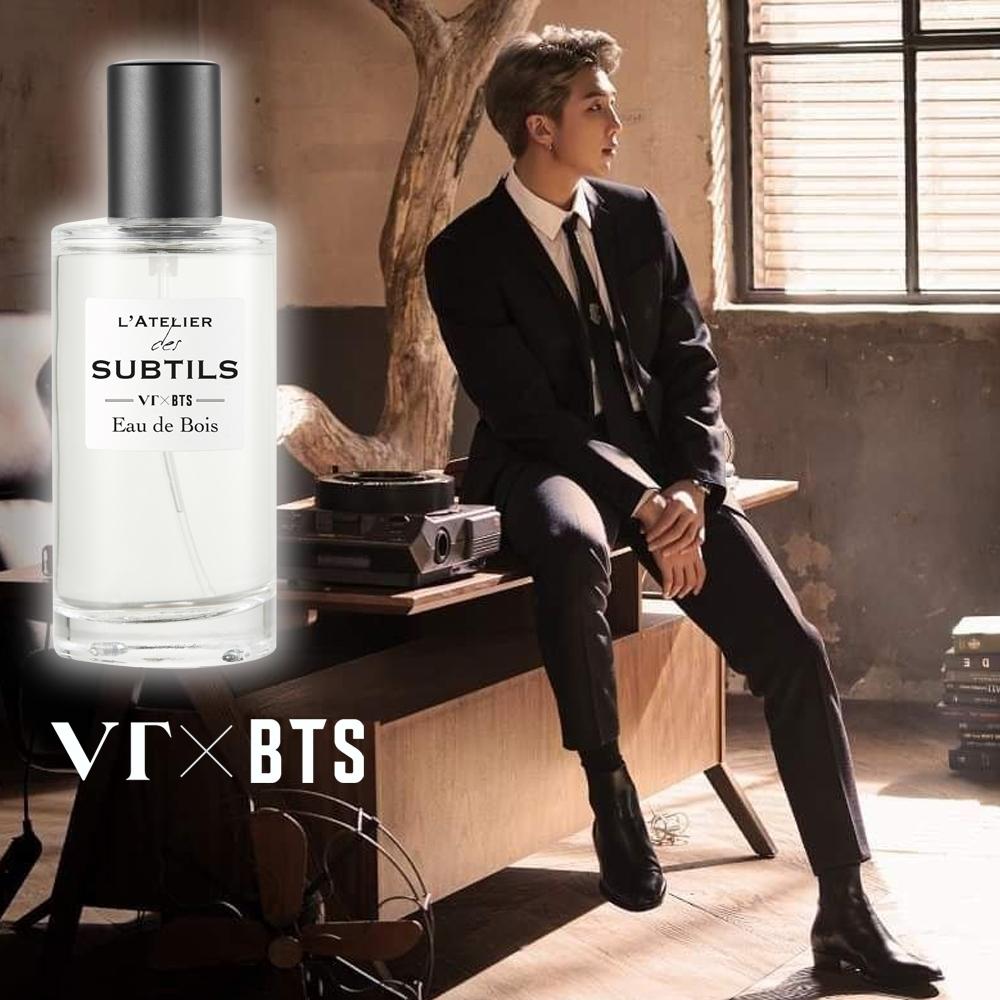 VT X BTS L'ATELIER-RM「森之呼吸」香水 ★贈防彈少年團立牌