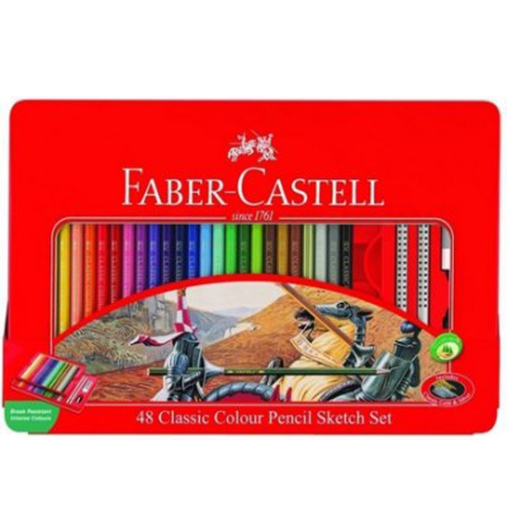 【Faber-Castell】115849 48色油性色鉛筆