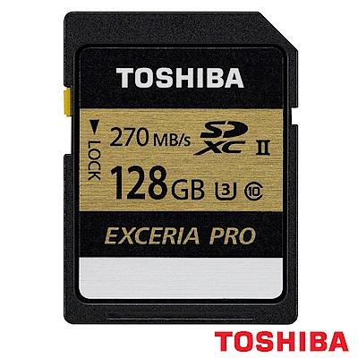 TOSHIBA 東芝 EXCERIA PRO SD SDXC 128GB UHS-II (公司貨)