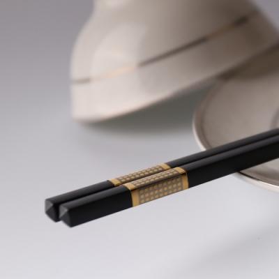 【Quasi】高分子聚合金筷5入-黑色