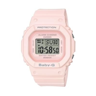 CASIO 卡西歐 BABY-G 電子錶BGD-560-4-粉紅/44.7mm