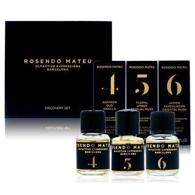 ROSENDO MATEU discovery set 旅組B (5ml*3) (內容物:Nº4、Nº5、Nº6) (平行輸入)