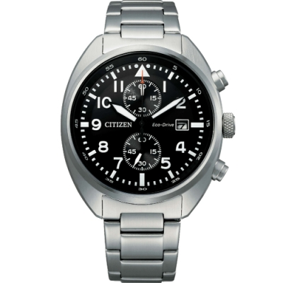 CITIZEN Eco-Drive 飛行員系列計時腕錶(CA7040-85E)