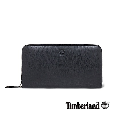 Timberland 女款黑色 Bloomfield 拉鍊皮夾 A1DC7