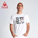 le coq sportif 法國公雞牌七龍珠聯名款 決鬥篇印花短袖T恤 男-白