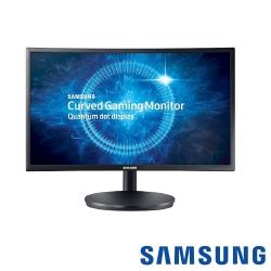 [無卡分期12期] SAMSUNG C24FG70FQE 24型 VA曲面電腦