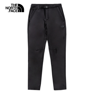 The North Face北面女款黑色防風防潑水戶外徒步褲|4NBYJK3