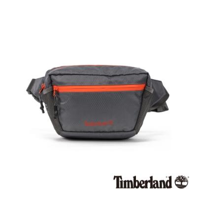 Timberland 中性鐵灰撞色休閒腰包|A2EWG