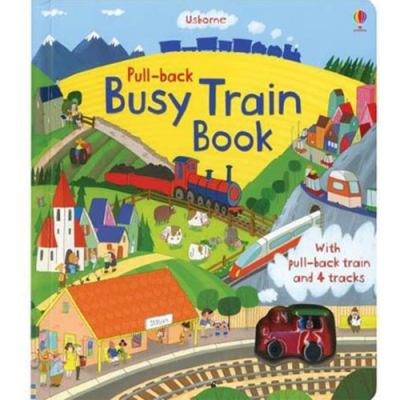 Pull-Back Busy Train Book 車車書:小火車