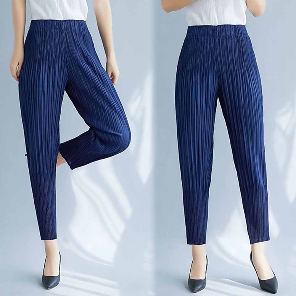 [時時樂](3款可選)三宅壓褶風格美到逆天設計師款褲KEITH-WILL product image 1