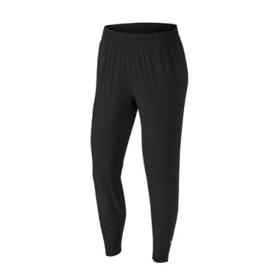 Nike 長褲 ESS Running Trousers 女款 運動休閒 慢跑 口袋 腰部抽繩 黑 銀 BV2899011