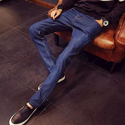 BuyGlasses Skinny超窄原色單寧牛仔褲