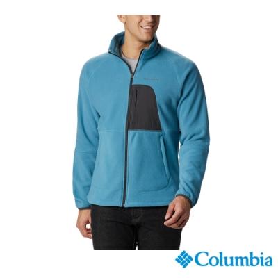 Columbia 哥倫比亞 男款 -  長刷毛外套-湛藍 UAE07810DB