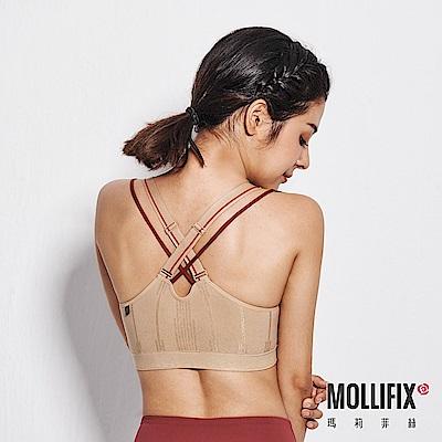 Mollifix瑪莉菲絲 A++ 微光可調肩帶浮托Bra (裸金)