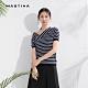 【MASTINA】設計款斜口條紋-針織衫(三色/魅力價格) product thumbnail 1