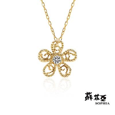 蘇菲亞 SOPHIA - 夏綺拉0.03克拉鑽石套鍊