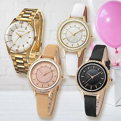 MANGO時尚經典腕錶