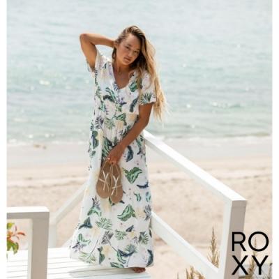 【ROXY】PARADISE SONG 洋裝 白色