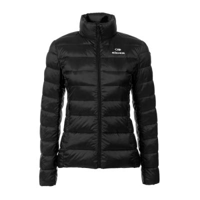 法國【EiDER】女保暖透氣羽絨外套 / 9EIV2910-黑色