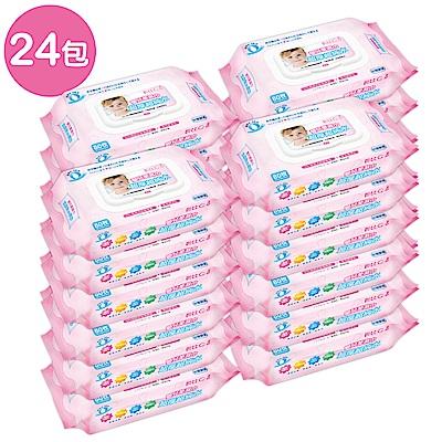 貝比Q EDI超厚超純水柔濕巾(80抽)x24包/箱/(無香料)