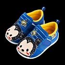 迪士尼童鞋 TsumTsum 塗鴉風寶寶學步鞋-藍