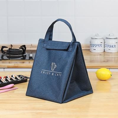 E.City_創意兩用餐墊保溫便當購物收納袋