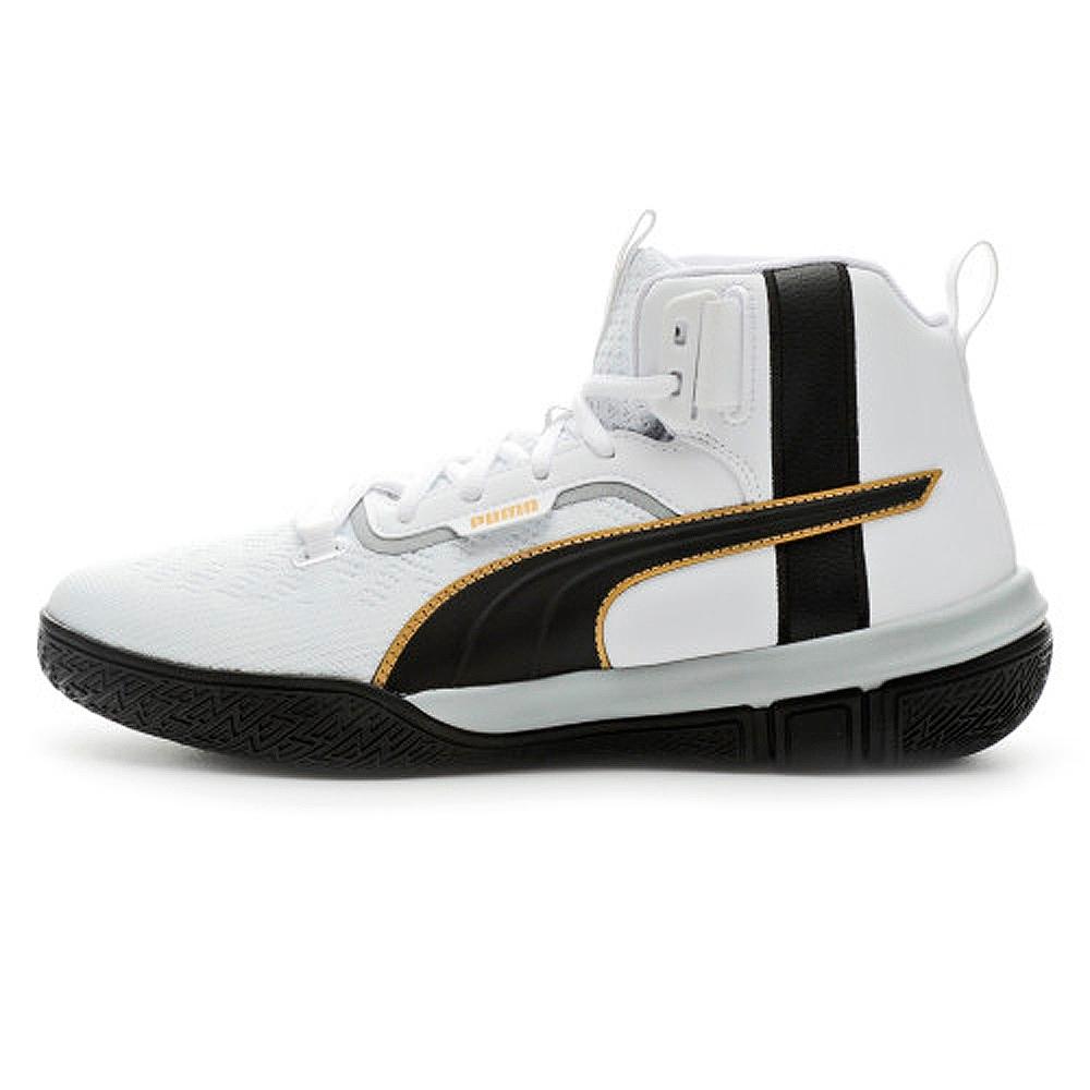 PUMA-Legacy '68 男性復古籃球運動鞋-黑色