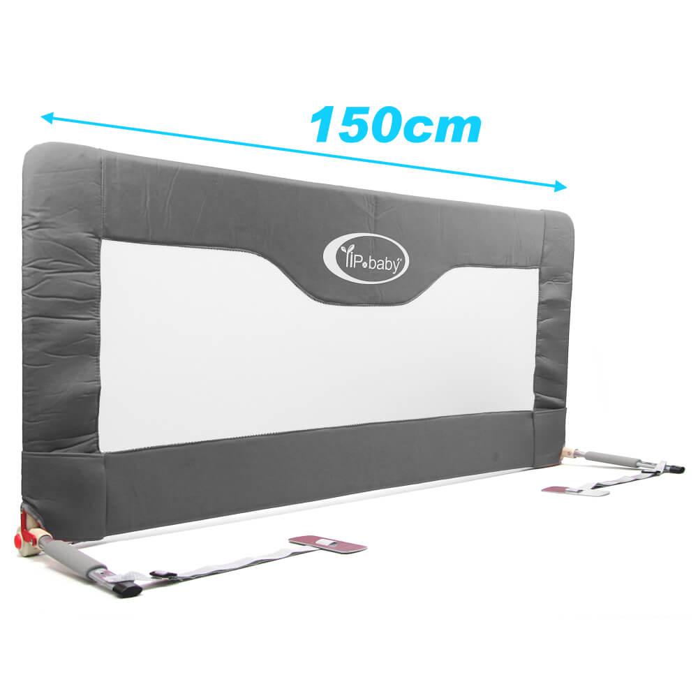 YIP Baby 兒童用床邊護欄(150x70cm)-灰