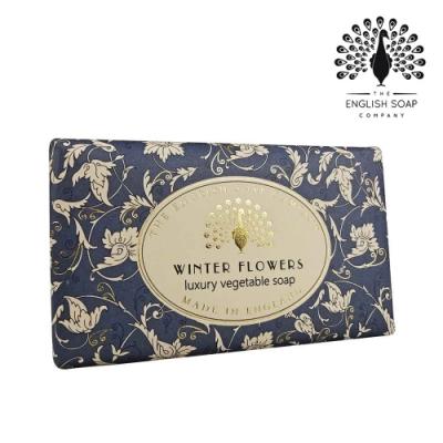 The English Soap Company 乳木果油復古香氛皂-冬日花 Winter Flowers 190g