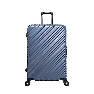 SKYLINE FRAME-28吋旅行箱-藍金銀點紋 OD9077A28LB