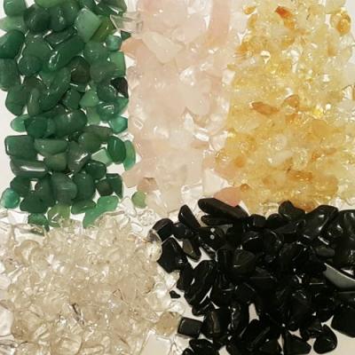 五行水晶碎石 (琉璃碎石)