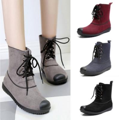 LN 韓系輕盈防水抗汙短筒雨靴-4色